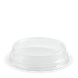 60ml Sauce cup flat Lid - no hole - Biopak