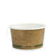 12oz BioBowl -  kraft green stripe - Biopak