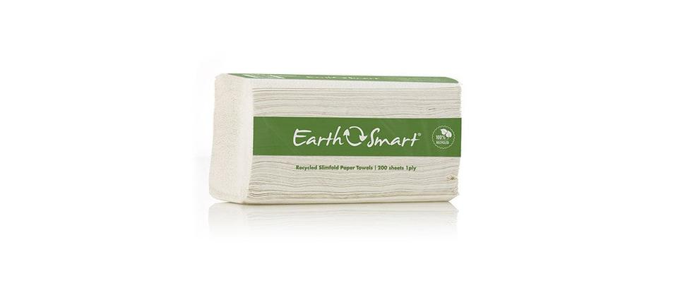 Recycled Slimfold Towel 1 ply 200 sheet - Earthsmart