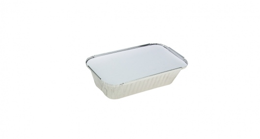 Uni-Foil Rectangle Small Takeaway with Lid - UniPak