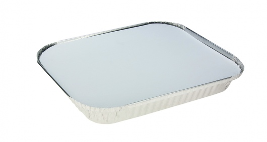 Rectangle Shallow Foil Half Gastronorm with Lid - UniPak