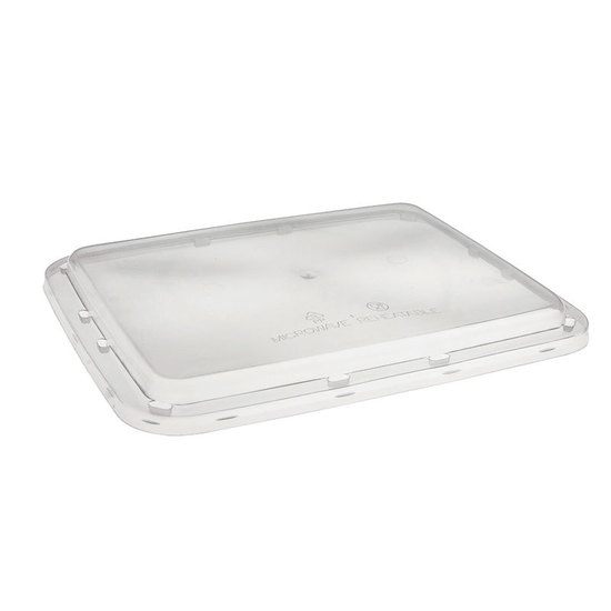 Rectangle Lid to suit 1200ml PP - T1200FC - UniPak