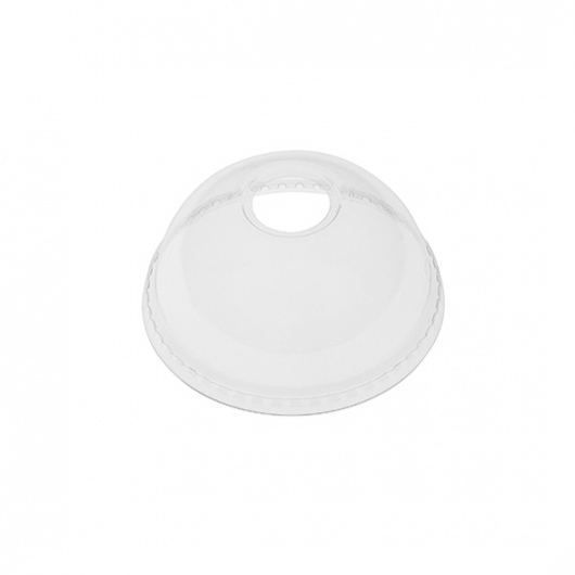 Dome Lid to suit 12oz & 16oz PET Clear Cold-Serve Cup - UniPak
