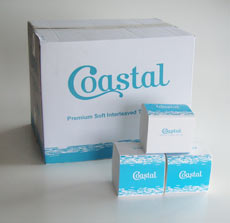 Interleaf Toilet Tissue - Coastal