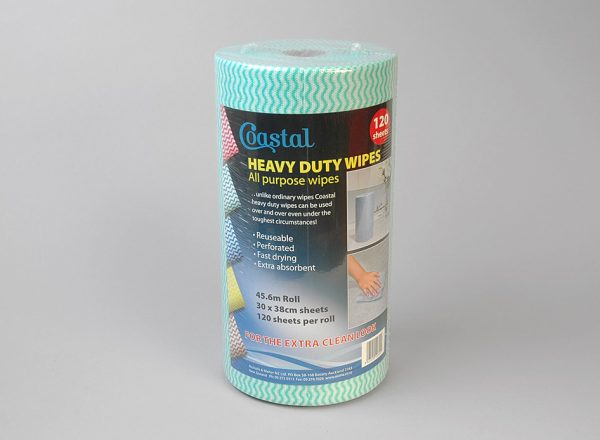 Cleaning Wipes Heavy Duty Green - Coastal