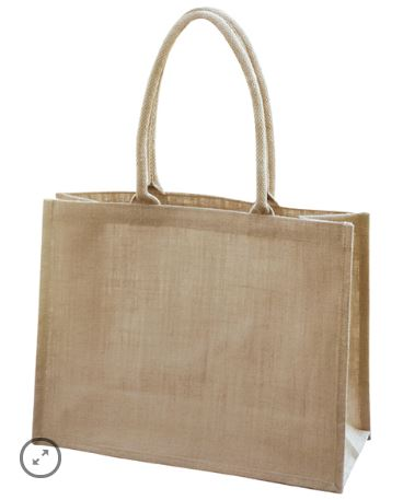 Unlaminated Natural Shopper Bag - Ecobags