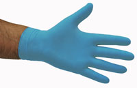 Nitrile Low Modulus Gloves Blue XL - Selfgard