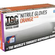 Nitrile Orange Premium PowderFree Small - TGC
