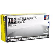 Nitrile Black Premium  PowderFree Large - TGC