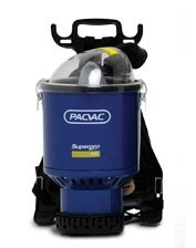 Pacvac SuperPro Battery Backpack Vacuum Cleaner
