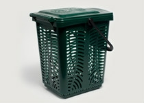 Bin 10L Caddy Ventilated (fits 10 Ltr Liner) - BioBag