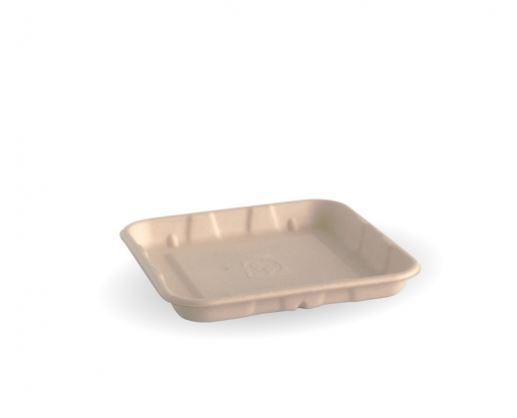 Biocane Produce Tray 136 x 136 x 16mm - BioPak