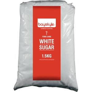 Baystyle White Sugar 1.5kg Pack