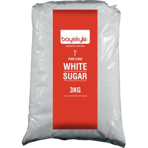 Baystyle White Sugar 3kg Pack