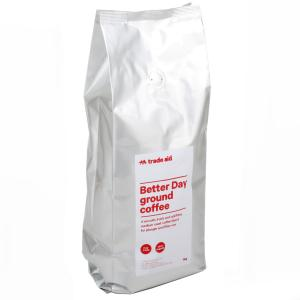 Trade Aid Better Day Blend Medium Ground Coffee 1kg