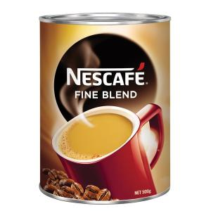 Nescafe 500G Tin Fine Blend Instant Coffee