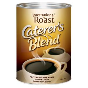 International Roast Caterers Blend Instant Coffee 1kg Tin