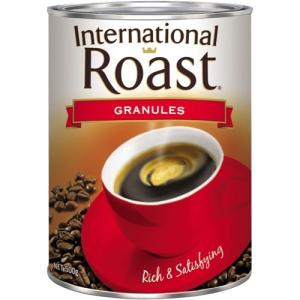 International Roast Granulated Instant Coffee 500g Tin
