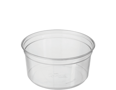 Round Deli Containers 12 oz, Clear - Castaway