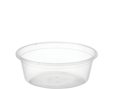 MicroReady' Round Takeaway Containers 8 oz, Clear - Castaway