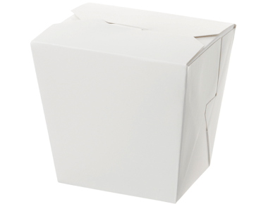 Paper Food Pail - No Handle, 32oz Extra Large, White - Castaway