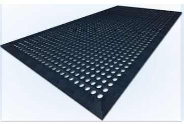 Safewalk Mats - Black - Glomesh