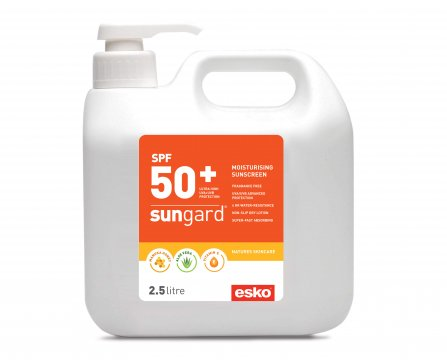 SUNGARD' SPF50+ Sunscreen 2.5L pump bottle - Esko