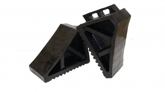 Heavy Duty Rubber Wheel Chock - Esko