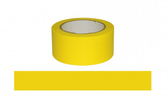 ESKO Floor Aisle Tape, Yellow, 50mm x 33mtrs  - Esko