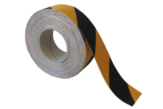ESKO GRIT TAPE Tape, 50mm x 18m, Black/Yellow - Esko