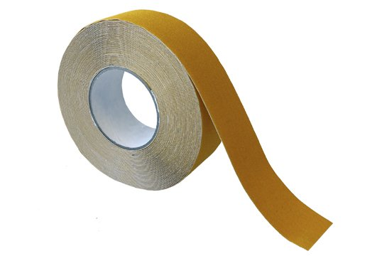 ESKO GRIT TAPE Tape, 50mm x 18m, Yellow - Esko