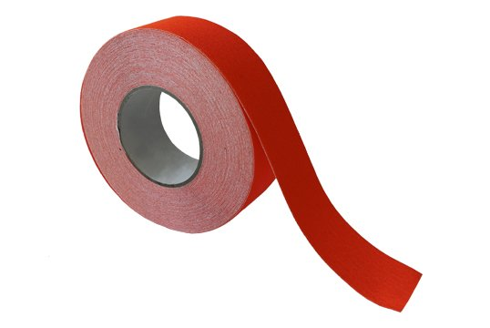 ESKO GRIT TAPE Tape, 50mm x 18m, Fluoro Orange - Esko