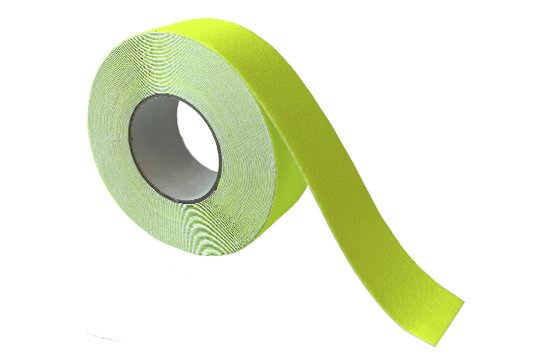 ESKO GRIT TAPE Tape, 50mm x 18m, Fluoro Yellow - Esko